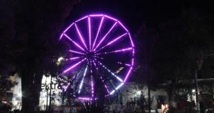 En Tulancingo, colocan juegos mecánicos por Navidad; habrá días gratis