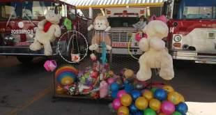 Por séptimo año consecutivo, el Heroico Cuerpo de Bomberos de Huejutla recolectará juguetes y ropa como parte de la campaña Bomber-juguetón