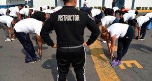 En Ciudad de México, policías se ejercitan