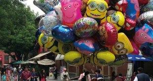 Buscan prohibir la venta de globos