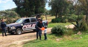 Policías de Hidalgo regalaron juguetes
