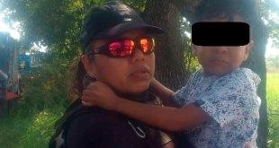 Hallan vivo a niño plagiado en Veracruz