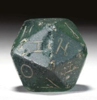 Ancient Roman Die - d20