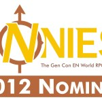 2012 ENnie Award Nominations Announced