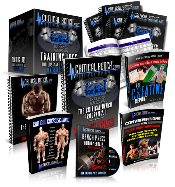 The Critical Bench Muscle Building Power Building Bench Press System