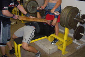 A Board With Your Bench Press