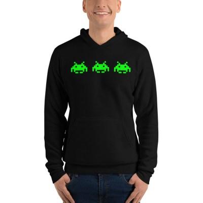 Pixel Invader Hoodie