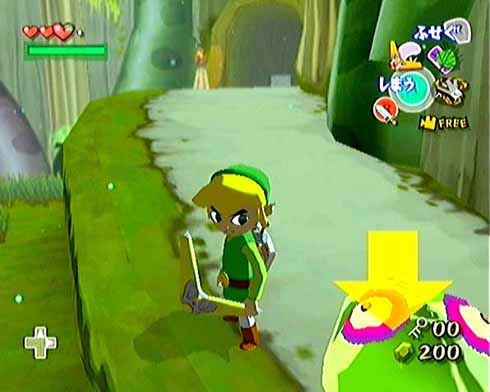 Showing us all how cell-shading should be done, The Legend of Zelda: The Wind Waker's graphics were a hotly debated topic when it was in development.