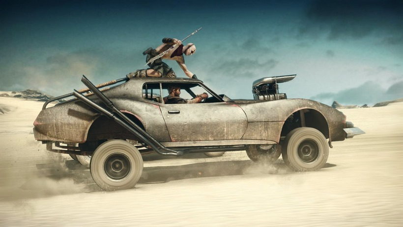 Mad Max car physics updated in new patch