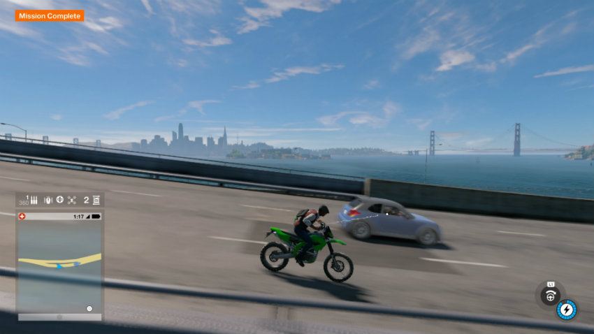 Watch dogs 2 bike