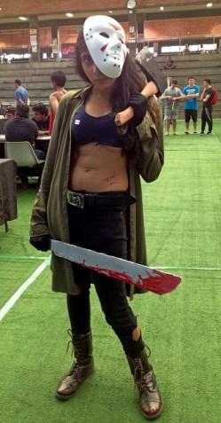 Senkita Cosplay as Jason Voorhees.