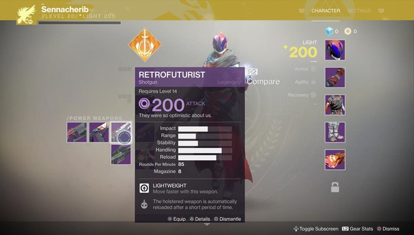 Destiny 2 - Weapons to Feature a Little Less RNG