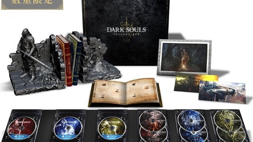 Dark Souls is getting a stunning trilogy box set