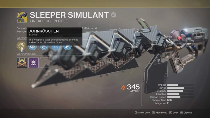 Destiny 2 Warmind How To Get The Sleeper Simulant Exotic Weapon