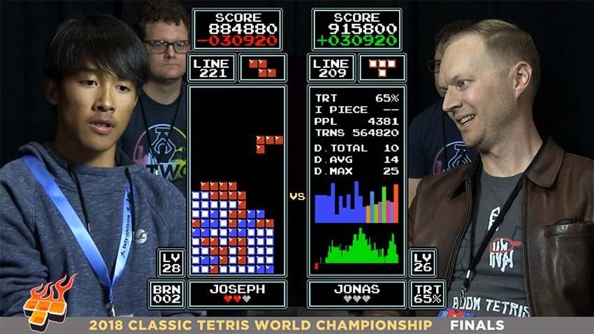16-year-old beats seven-time victor  to become new Tetris champ