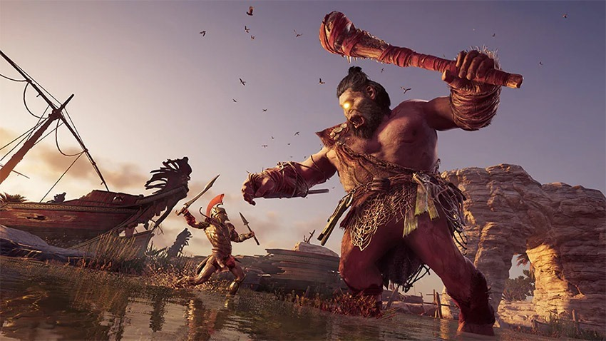Assassin's Creed Odyssey November updates include Steropes the Cyclops, level cap increase to 70, more