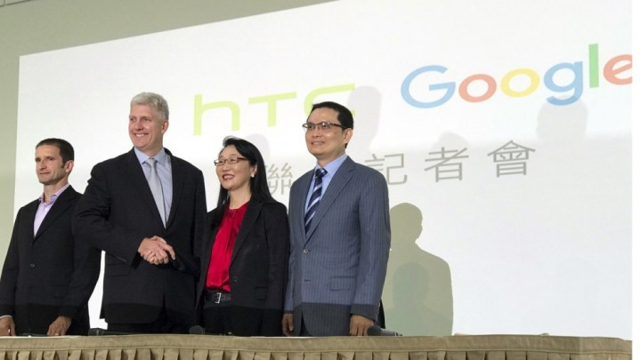 Google and HTC on the $1.1 Billion deal