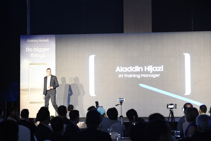 Alladin Hijazi - IM Training Manager explains the fine details about the Samsung Galaxy Note8