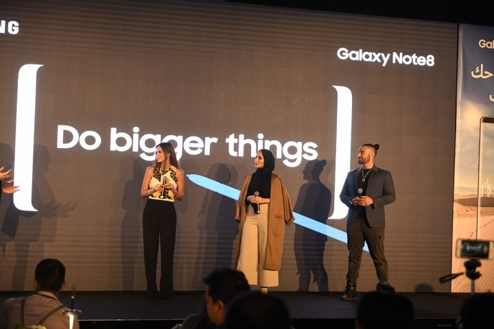 Celebrities (L-R) - Engineer Dina Sharif, Creative Director and Entrepreneur-Mimi Le Blanc, and RJ Kris Fade