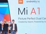At the launch of Mi A1 in Delhi, India