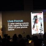 Samsung Galaxy Note8- Live Focus