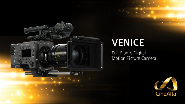 Sony Professional Unveils VENICE, Its First 36x24mm Full-Frame Digital Motion Picture Camera System