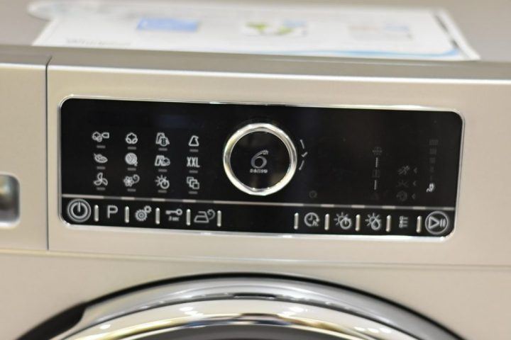 Whirlpool 6th Sense-Dyer- menu