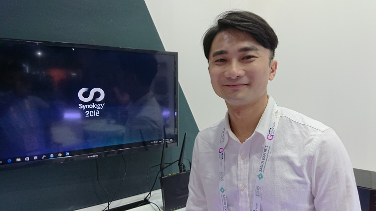 Max Wu - ProductMarketing Manager, Synology