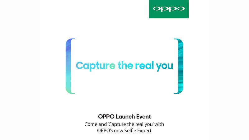 OPPO F5 Invitation sent to Indian Media people