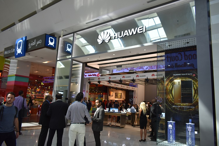 Huawei Consumer Business Group opened their first Huawei 'Experience Store' in the Middle East and Africa in Dubai Mall.