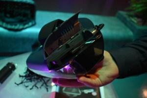 Insert Smartphone into the Lenovo Mirage™ AR headset