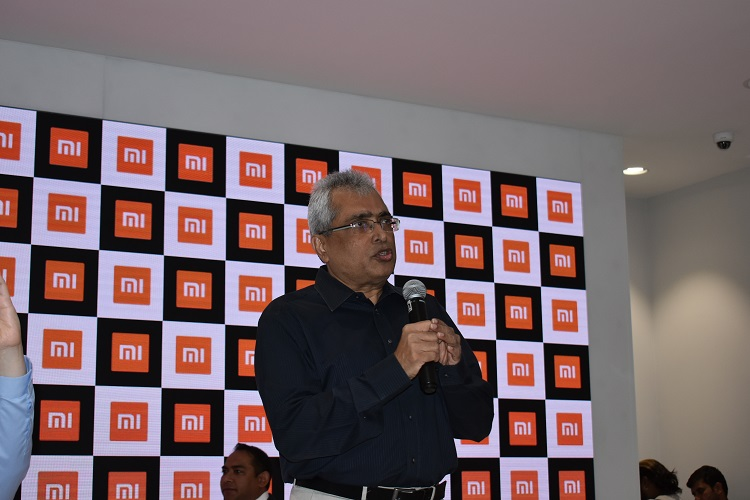 Ravi Mathew, Chief Operation Officer of TASK FZCO: Addressing the Press