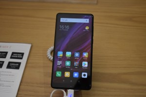 Smartphone MI Mix2 displayed at the Xiaomi 2nd Store opening - AED1899