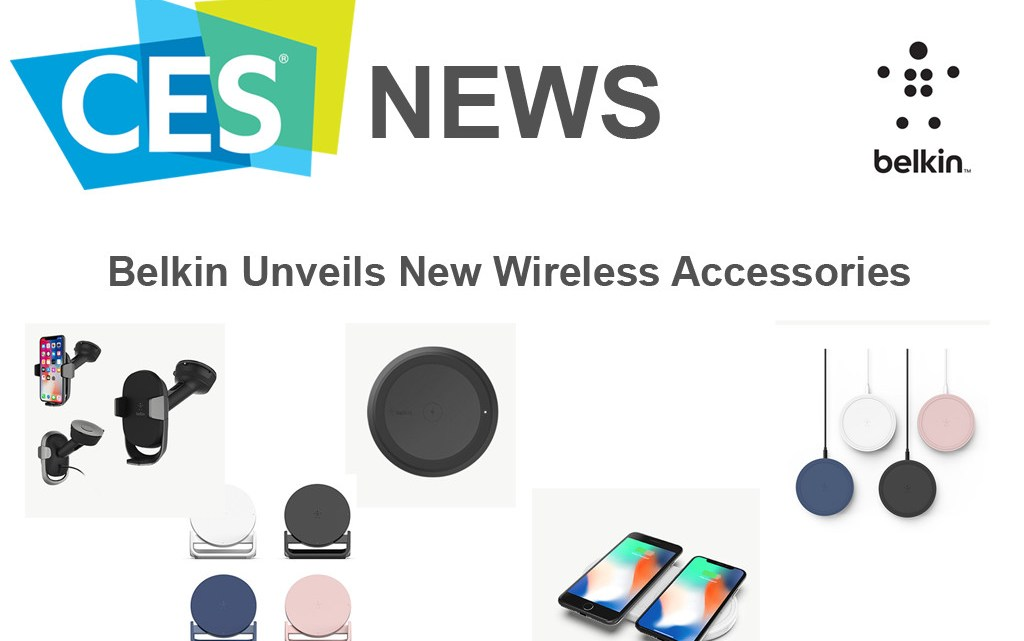 CES 2018 News: Belkin unveils new wireless charging accessories, coming soon to Middle East