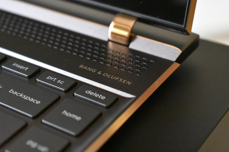 HP Spectre 13 - Built in with Bang & Olufsen ultraport speakers, good audio for slim laptop