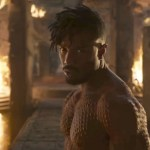Micheal B. Jordan fights TChalla for the throne