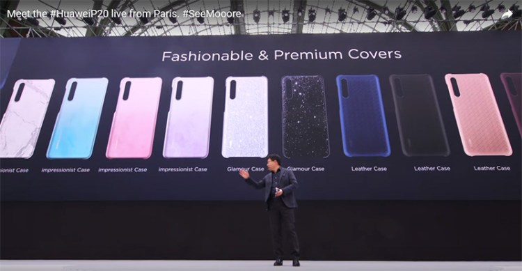 Huawei launched new P Series smartphones P20 & P20 Pro and