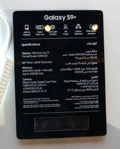 Samsung S9+details