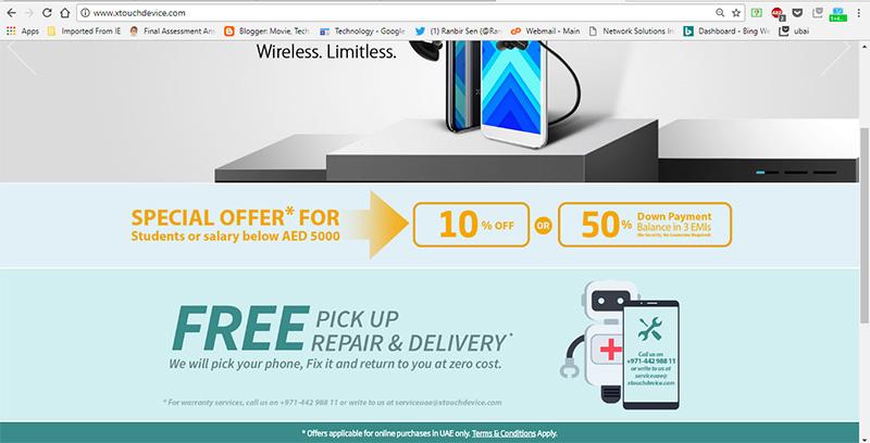 Website-www.xtouchdevice.com.