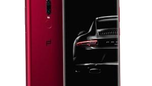 Porsche Design Huawei Mate RS Red colour