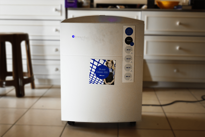 Blueair's HEPASilent™ technology helps to clean air and create healthy living