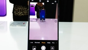 uawei-P20-Pro-on-Display-at-City-Walk,-Dubai,-UAE