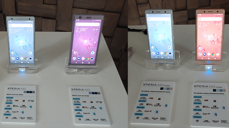 Sony Mobile Middle East Launched Xperia XZ2, Xperia XZ2 Compact, Wireless Bluetooth Headsets & Wireless Charger