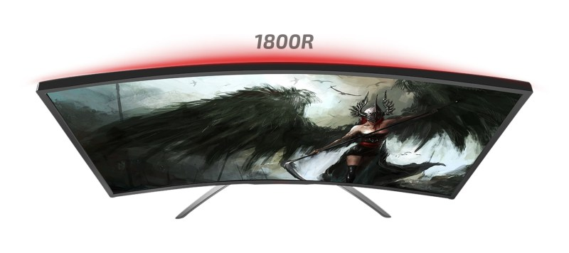 AOC AGON AG322QCX Gaming Display Curve