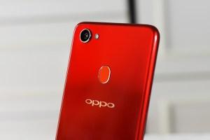 OPPO F7: Back-Camera, LED-Light & fingerprint sensor