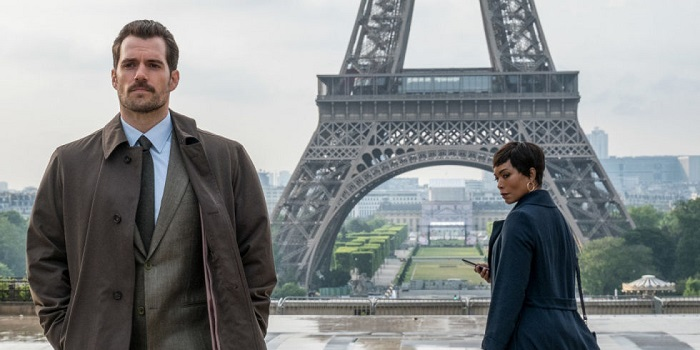 Mission Impossible - Fallout - Angela Bassett & Henry Cavill