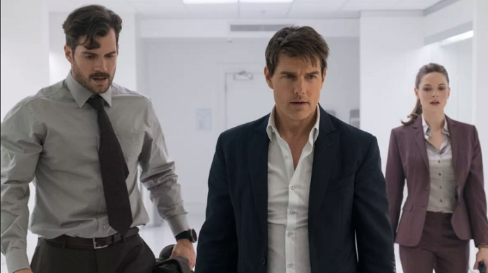 Mission Impossible Fallout Henry Cavill Tom Cruise Rebecca Ferguson