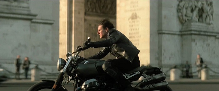 Mission Impossible - Fallout - Tom Cruise on the bike