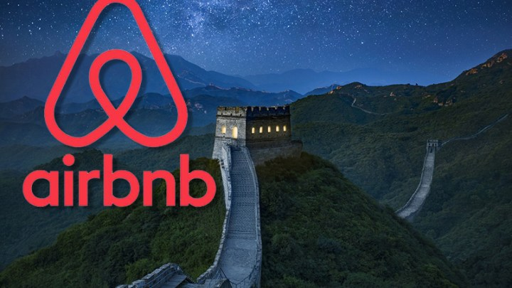Spend a night on The Great Wall of China with airbnb
