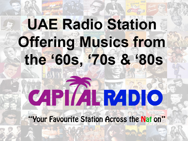Coming Up UAE Radio Station Offering Musics from the '60s, '70s & '80